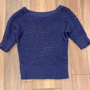 White House Black Market mesh sweater